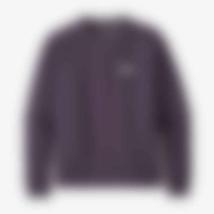 Patagonia Women's Pastel P-6 Label Organic Crew Sweatshirt – Piton Purple
