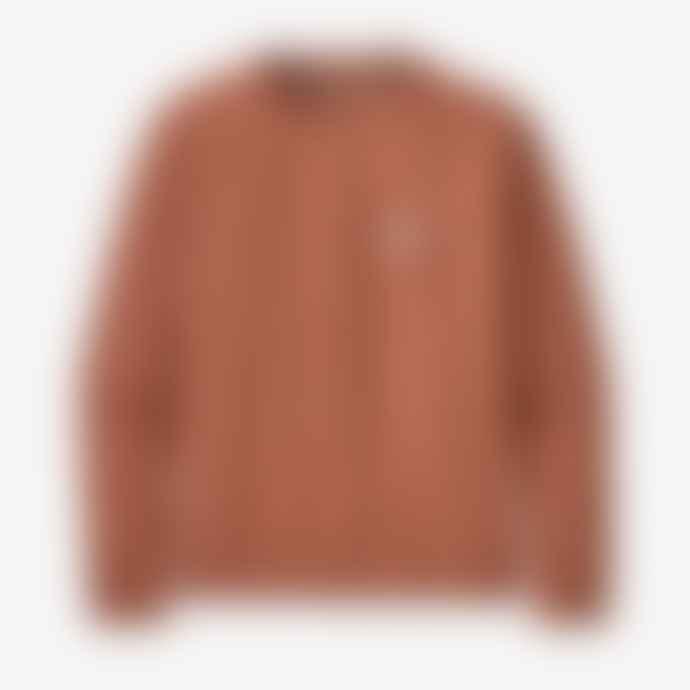 Patagonia Women's Pastel P-6 Label Organic Crew Sweatshirt – Century Pink