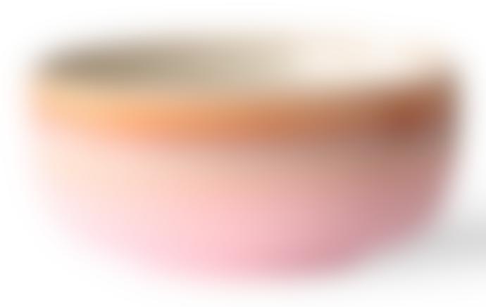 HKliving Ceramic 70s Pink Dessert Bowl
