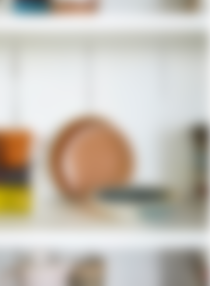 HKliving Ceramic 70s Mist Curry Bowl