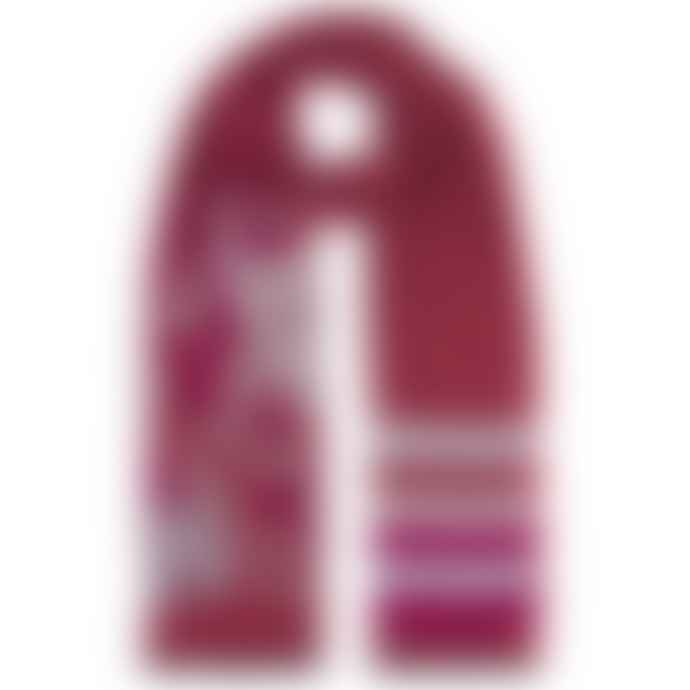 Emma J Shipley Amazon Jacquard Scarf in Pink