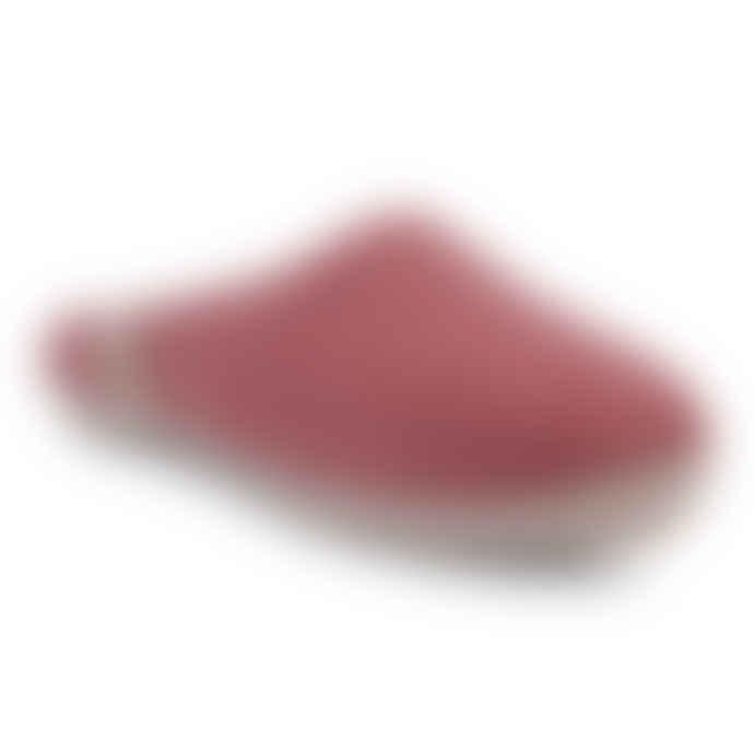 Egos Copenhagen Dusty Rose Pink Wool Slippers