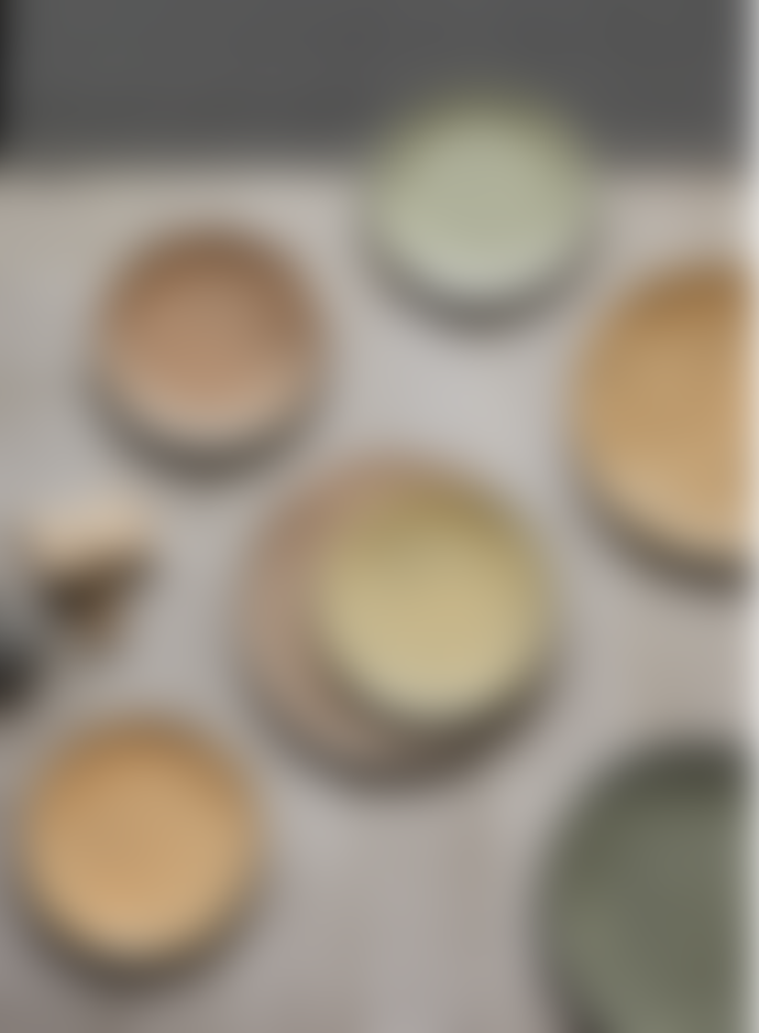 HKliving Gradient Ceramics Taupe Side Plate