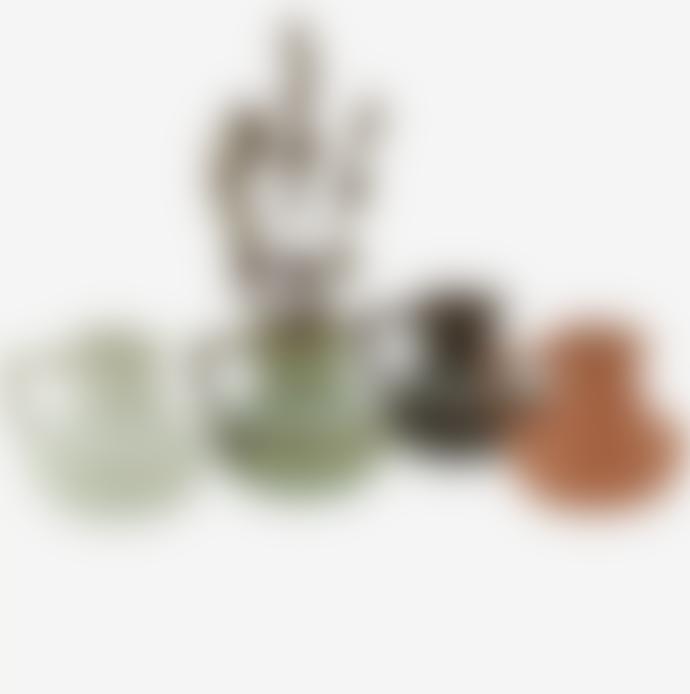 Madam Stoltz 4 Tiny Stoneware Jug Vases
