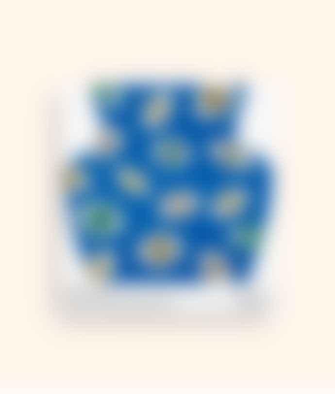 Octaevo Blue Nazar Paper Vase