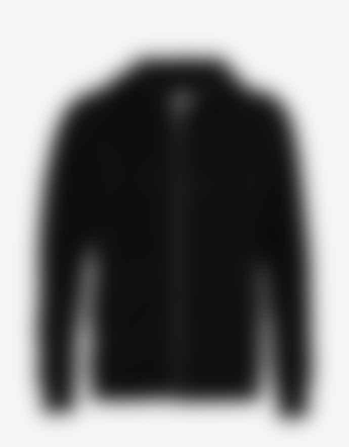 Colorful Standard Organic Cotton Zip Hood Deep Black