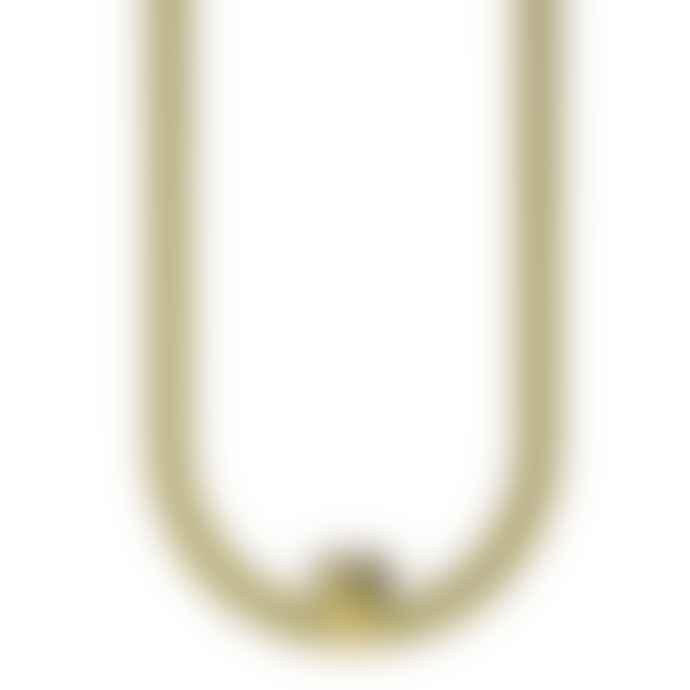 Cooee Design Golden Hanging Candle Holder Decorative Ring