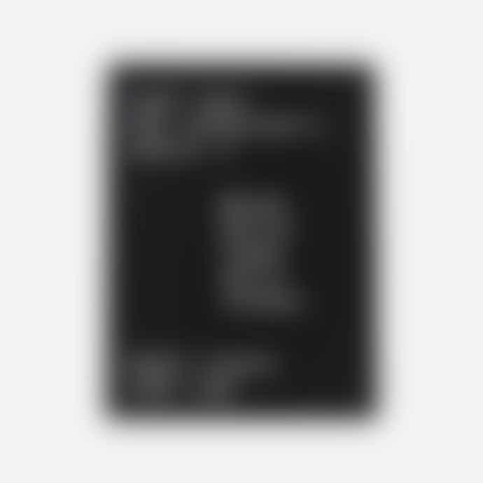 Monograph Letter board, Black
