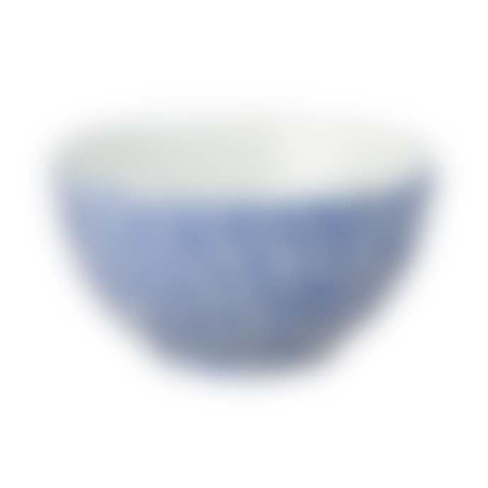 Burleigh Dark Blue Felicity Sugar Bowl 9.5cm