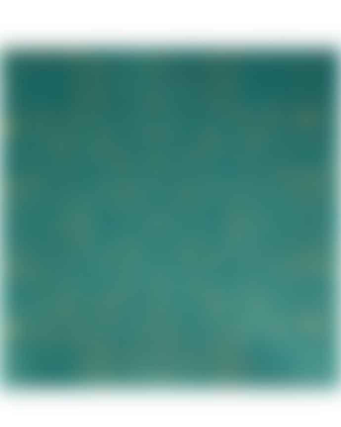 Francoise Paviot Paper Napkins Croco Blue