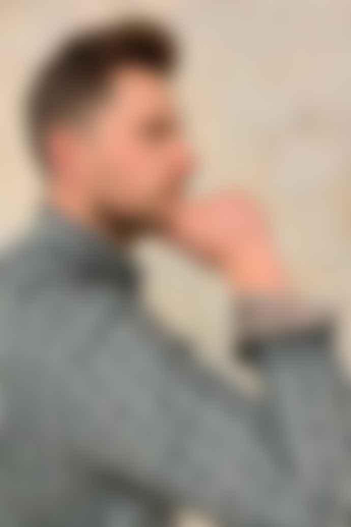 Dario Beltran Blue Shades Pendant Shirt