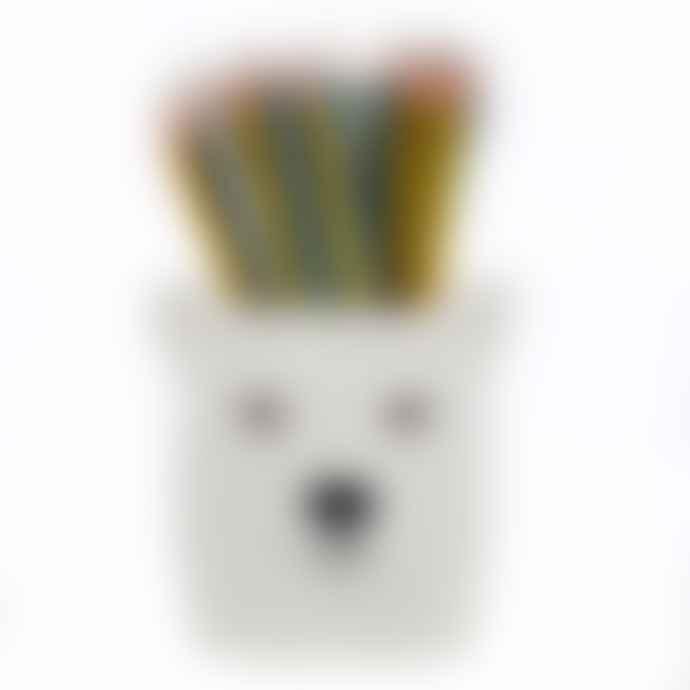 Quail Ceramics Polar Bear Pen Pot