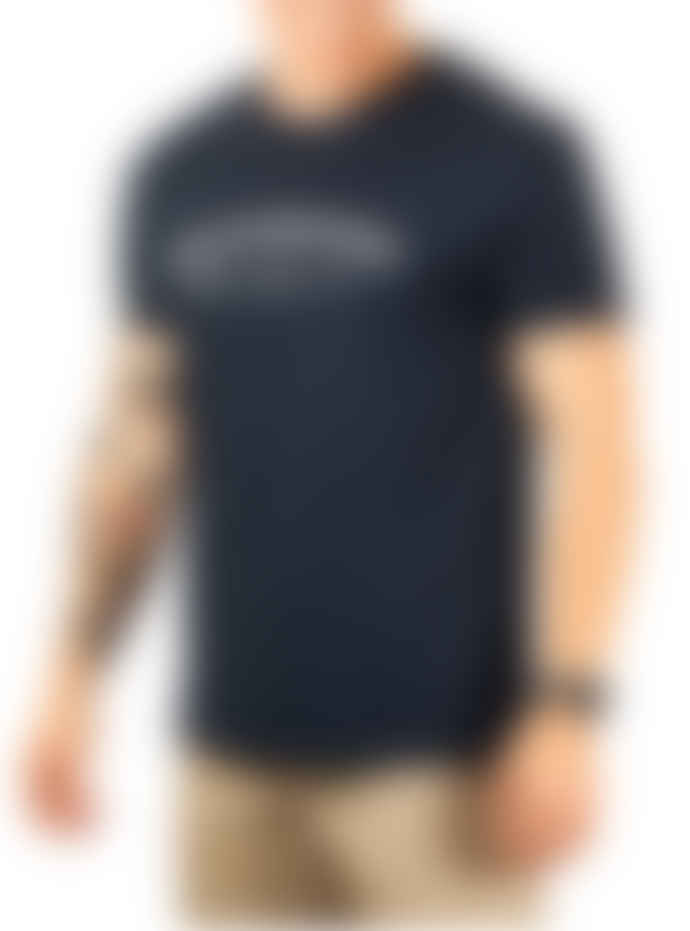 Knickerbocker Core Logo T Shirt In Dark Navy