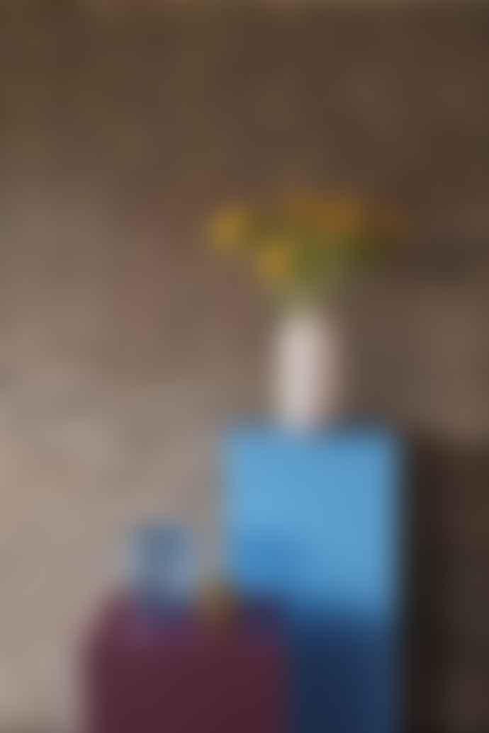 Hubsch A/S Vase Pink / White Swirl Small