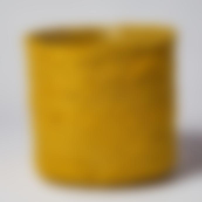 Forest Yellow Jute Plant Pot - Medium