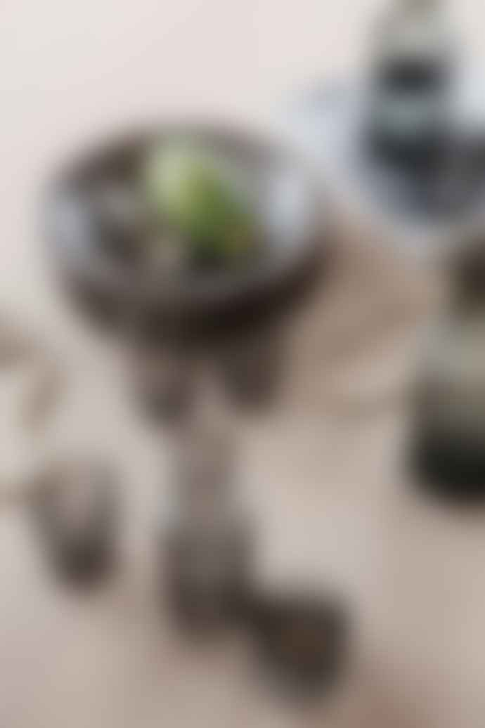 Ferm Living Small Smoked Grey Ripple Carafe Set