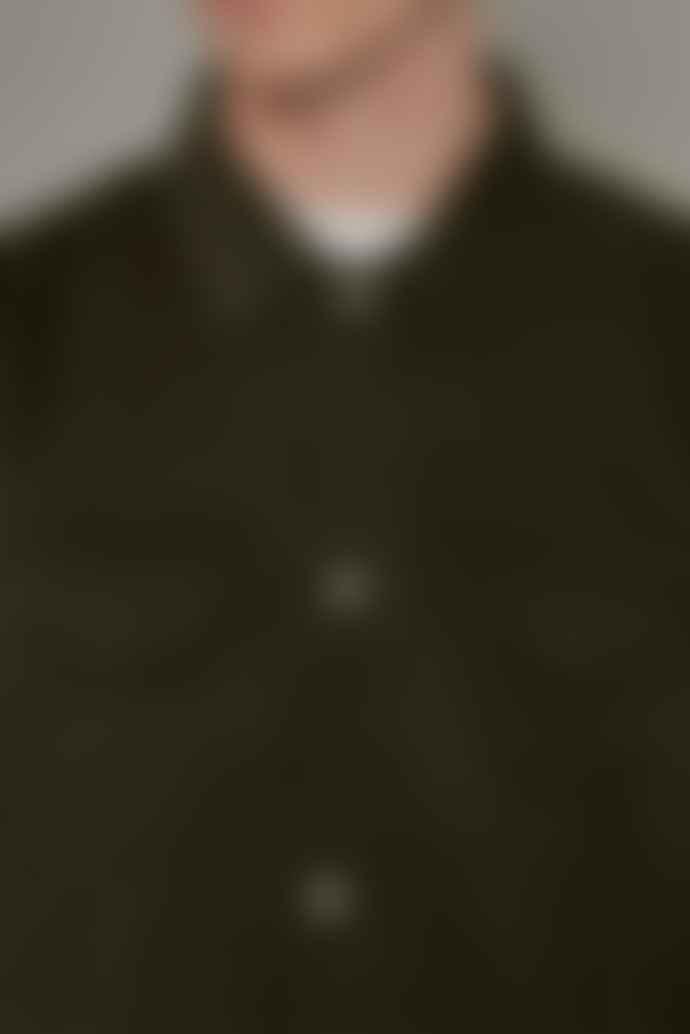 JJ Emlyn Clifton Overshirt Khaki