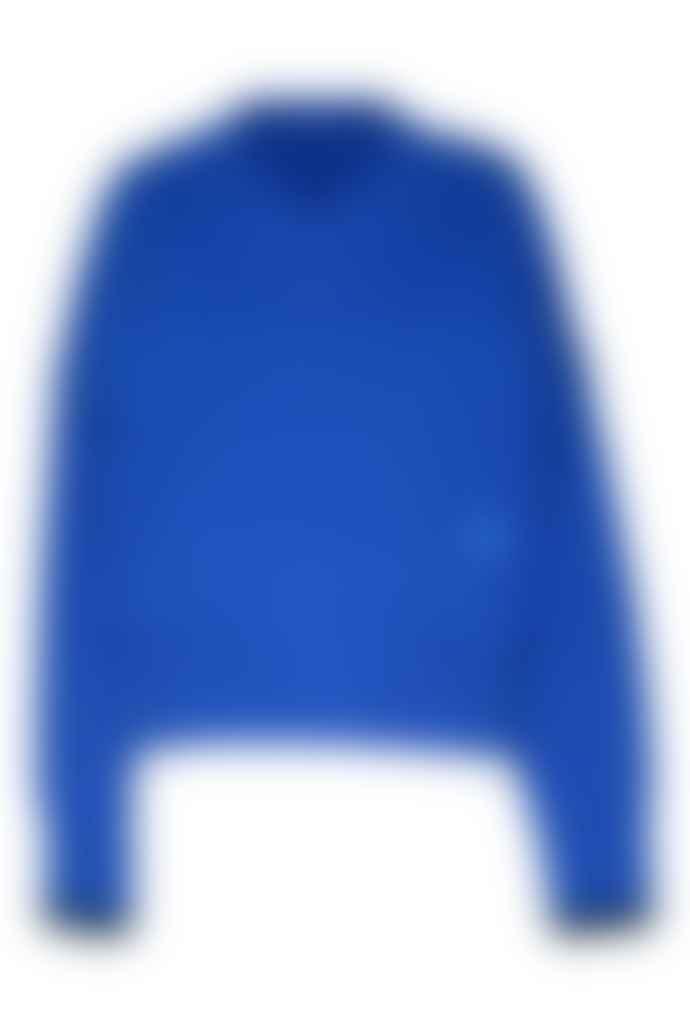 Markus Lupfer Margot Tipping Jumper Azure Blue