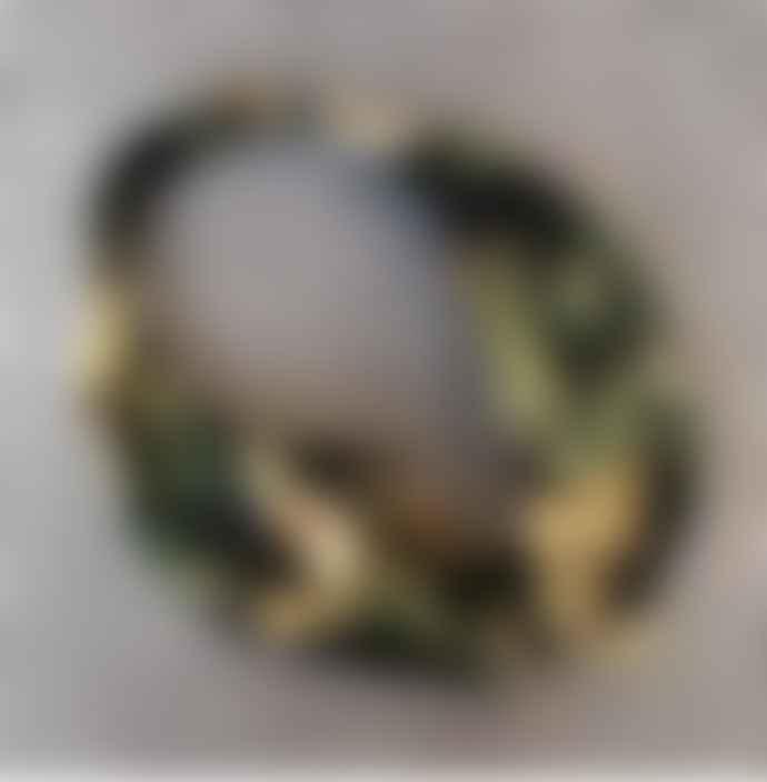 Lily King Japanese Tiger Headband - Black