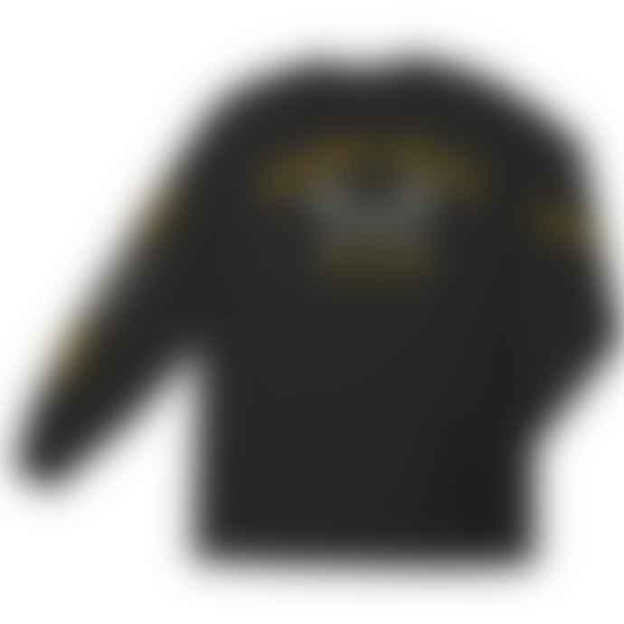Dark Seas Headmaster L S Tee Shirt Black