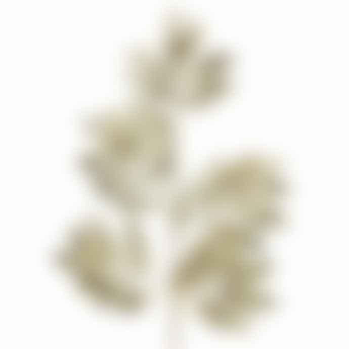 Gisela Graham Gold Leaf Glitter spray 70cm