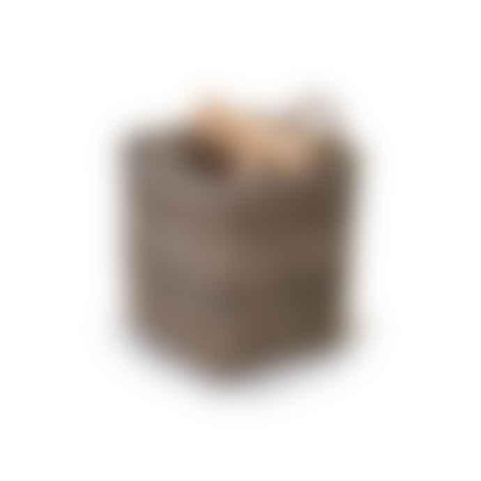 Garden Trading Square Log Basket | Small