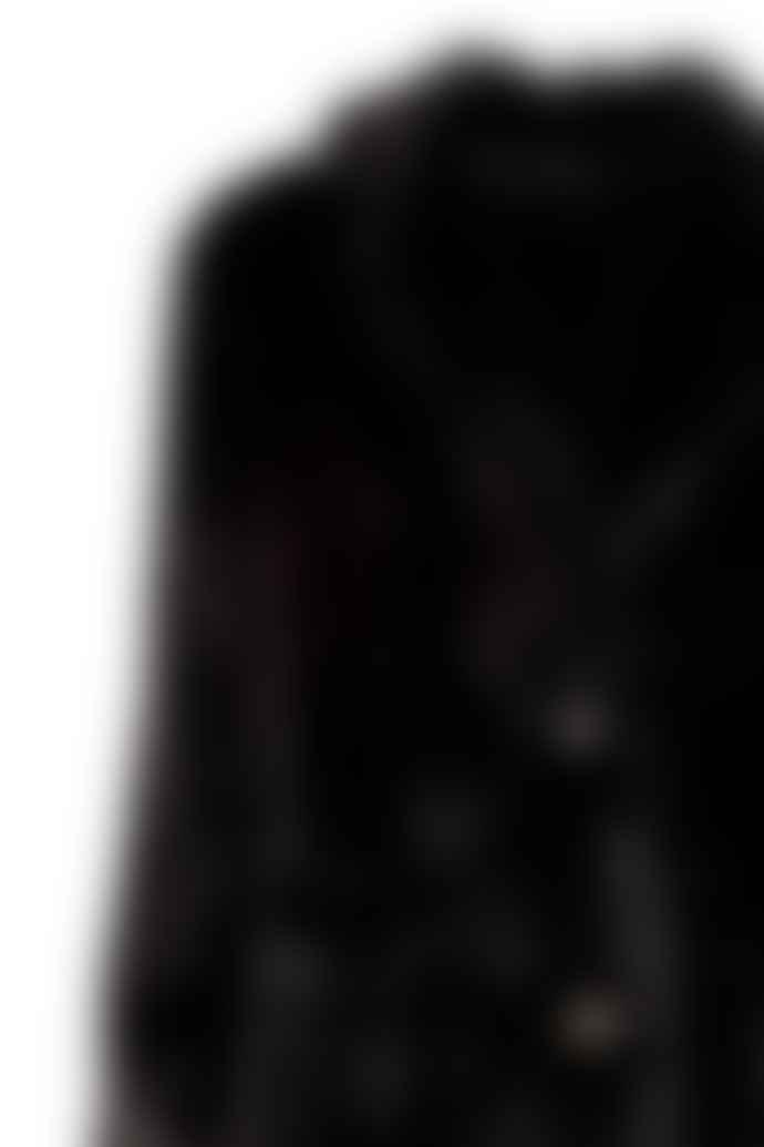Alex Max Faux Fur Coat Black