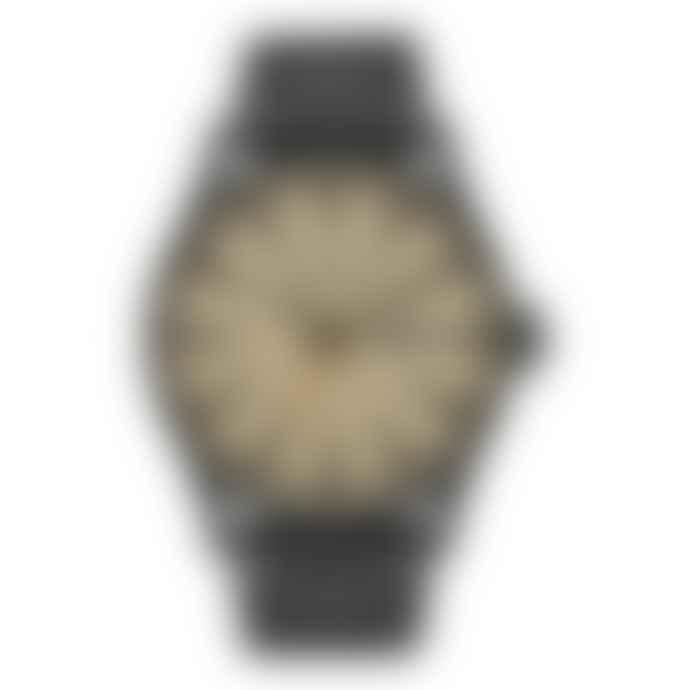 Nixon Black Khaki Sentry SS Watch