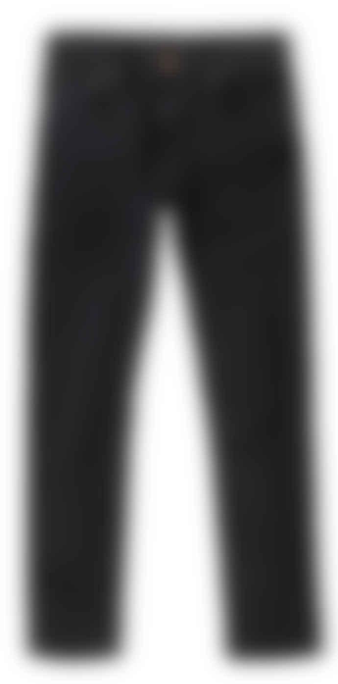 Nudie Jeans Lean Dean Slim Fit Jeans (Black Skies)