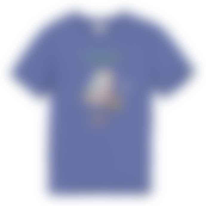 Tiwel Blue Frog Flycat T Shirt