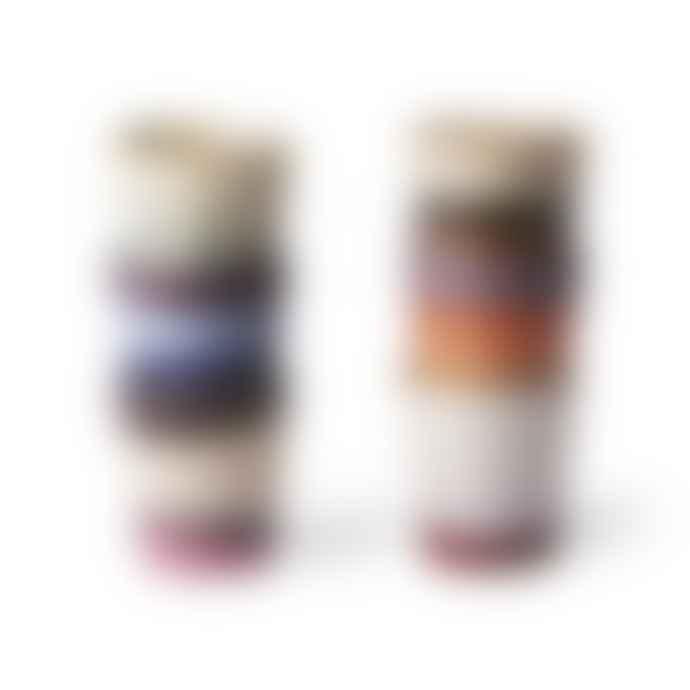 HKliving Ceramic 70s Mugs Set Of 6