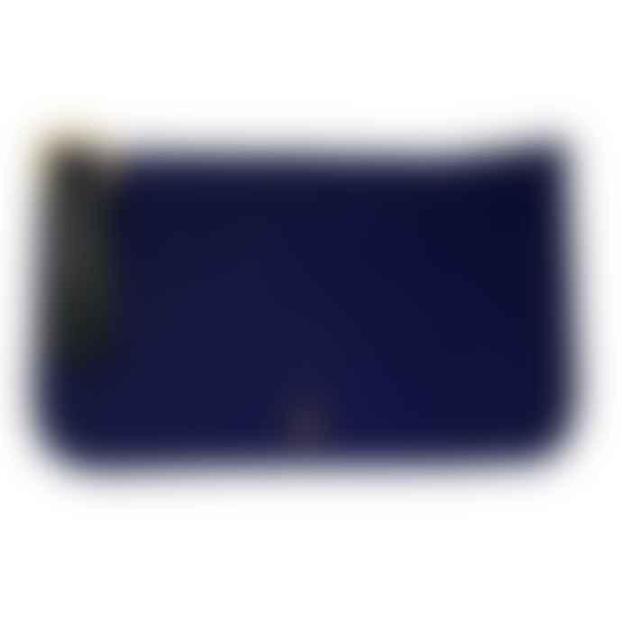 Craie Blue Nylon Pouch