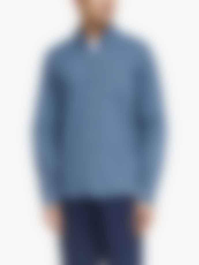 Far Afield Floral Chambray Shirt - Mod Button Down