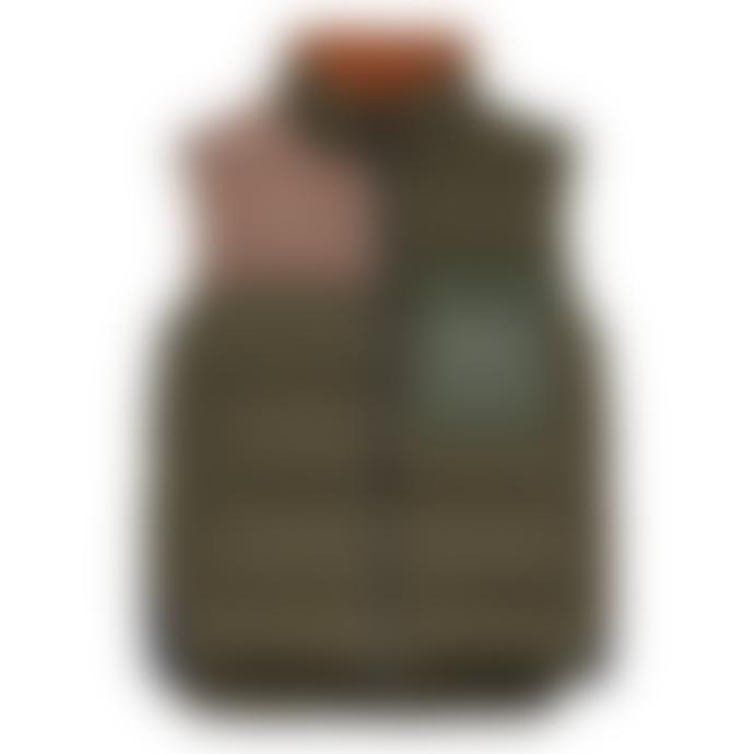 CLOSED Vest - Fabric Blocking - Sea Tangle Green