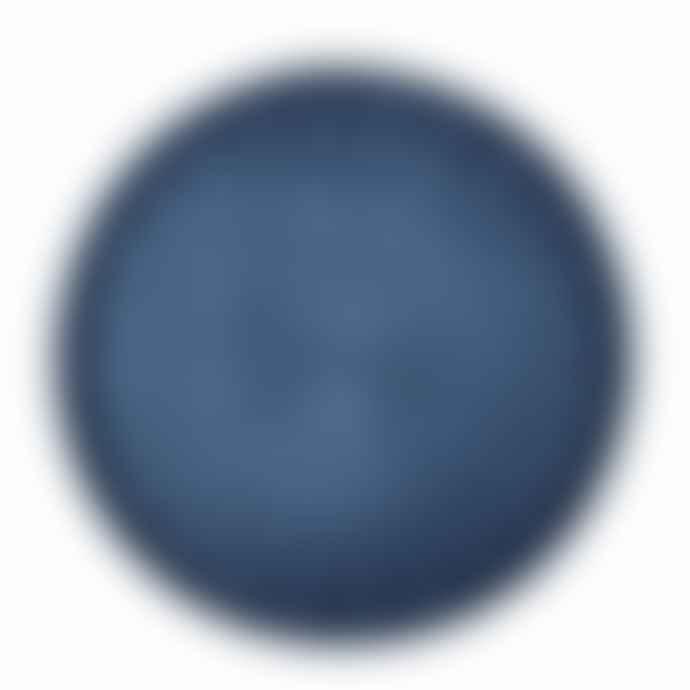 Mori Kougei Round Rays Tray L Indigo Dyed