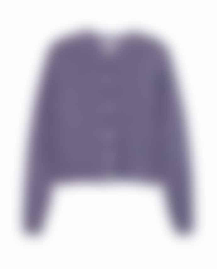 American Vintage Dolsea Cardigan Purple Melange