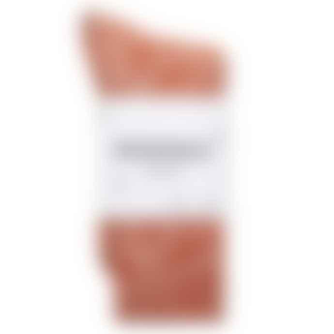 Patapaca Random Weave Socks Orange White