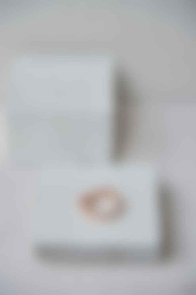 Mies Nobis Textured Kirea Ring Rose Gold Vermeil