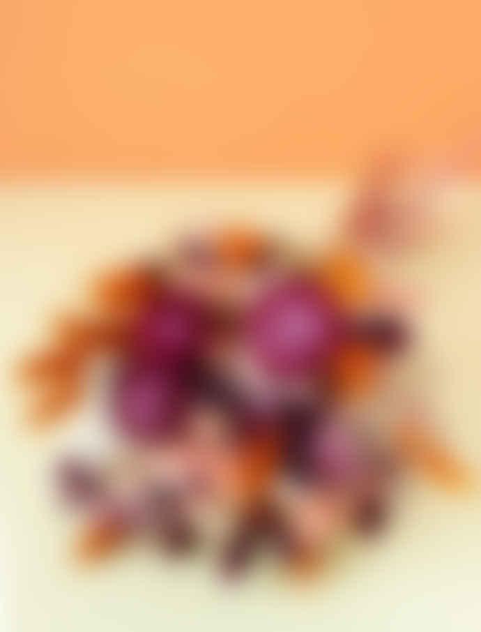 """Pompon Bazar Bouquet of Dried Flowers """"Art Deco"""""""