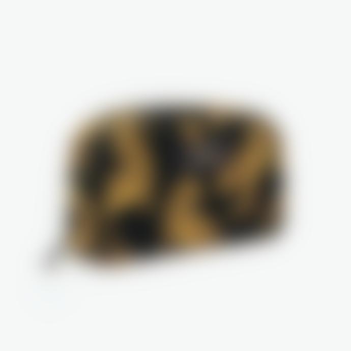 Wouf Black Leopard Large Makeup Bag