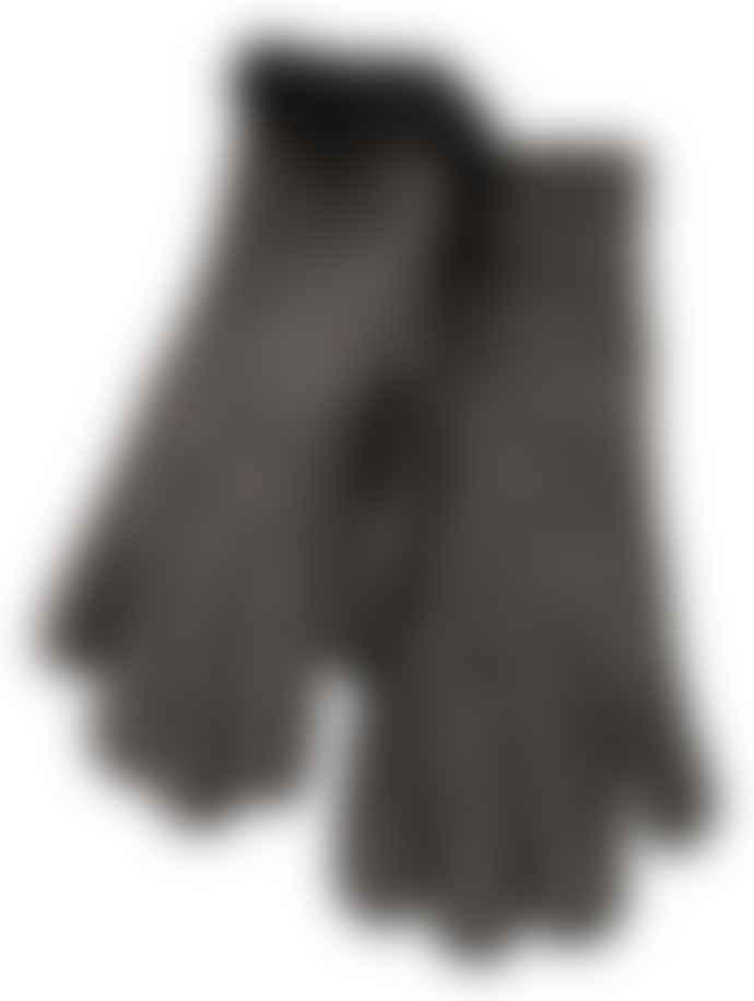 Yaya Lammy Gloves Brown
