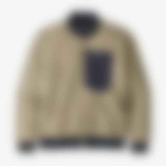 Patagonia Sweater Retro X Bomber Pelican