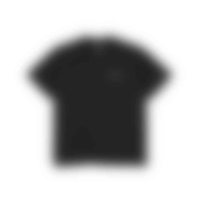 Polar Skate Co Script Tee Black