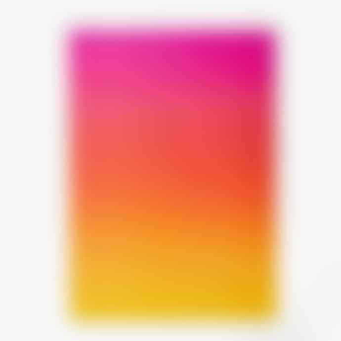 Areaware Puzzle Gradient Pink Orange Yellow 1000 Piezas