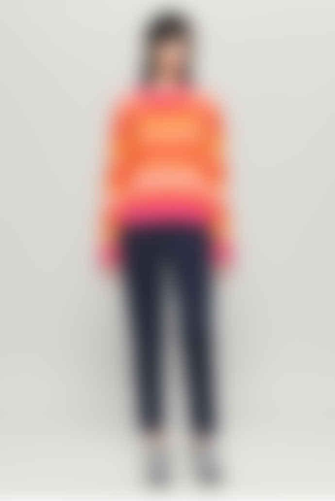 Baum und Pferdgarten Colana Sweater - Orange Multi-Stripe
