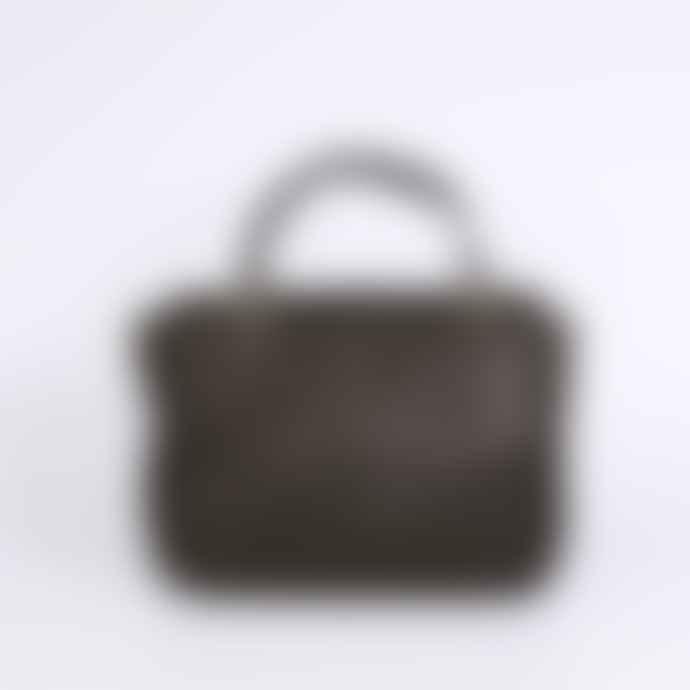 Craie Mini Black Maths Viperine Bag