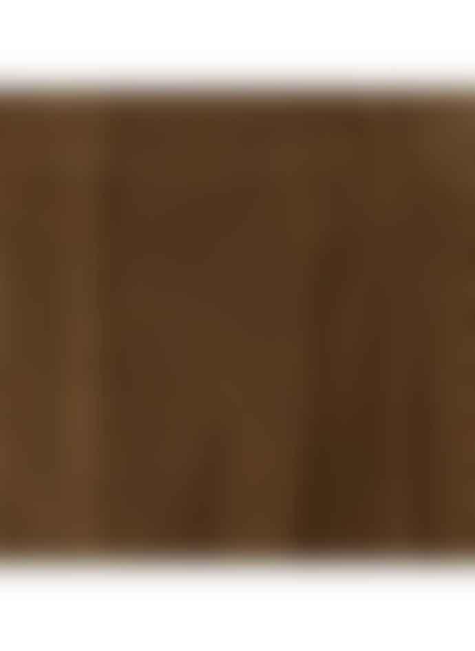 Pomandere Cotton Corduroy Trousers In Rich Dark Tan