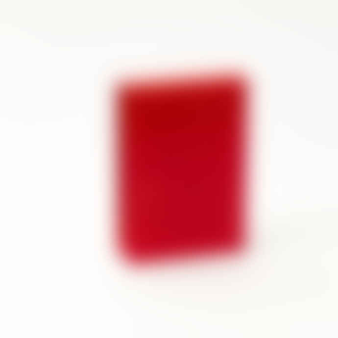 Block Design Red Perpetual Calendar