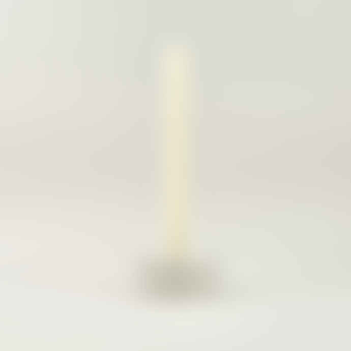 St Eval Candle Company Dinner Candle Holder Stone Speckle Set of 2