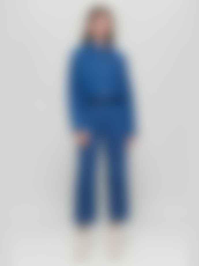 Baum und Pferdgarten Noell Cropped Jeans Mid Blue Raw